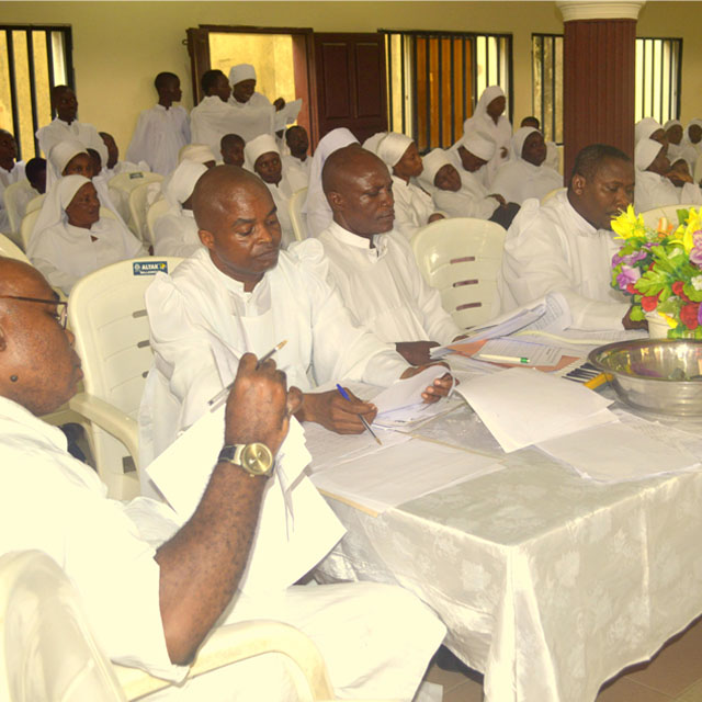 Christ's Natural Choristers' Fellowship (CNCF) August Grading Exercise 2015