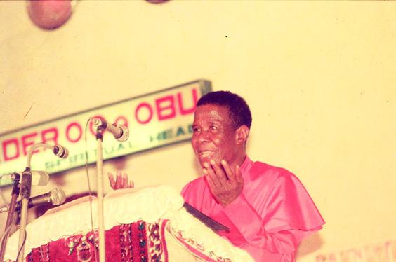 Leader Olumba Olumba Obu sermon God is everything to man