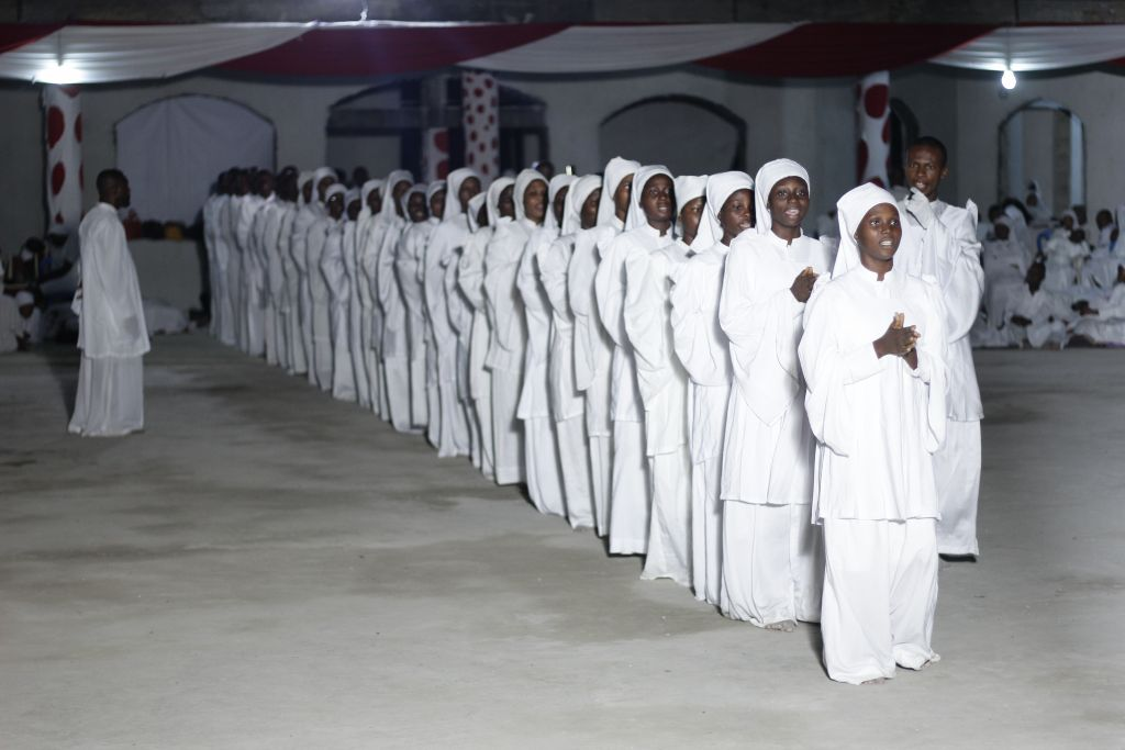 Choristers Matching During 2020 CNCF Pilgrimage